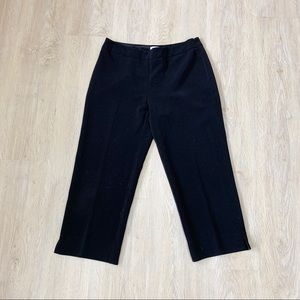 4FOR$20/White House Black Market Black Capri Pants